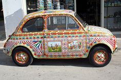 FIAT 500 in Sicilia  #TuscanyAgriturismoGiratola