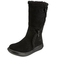 Rocket Dog Slope Women's Boots, Black, 8 UK. UK boots. Women boots. Women fashion. Women outfits. Women dressing. Women style. Stylish. It's an Amazon affiliate link.