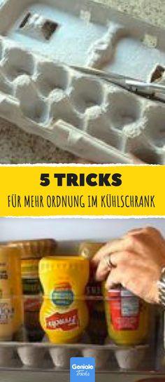 5 Tricks für Ordnung im Kühlschrank