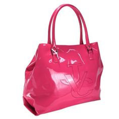 "$699.00 Versace Jeans Couture VJC E1VBBB44 76832 319 Fuchsia Tote Pink/Fuchsia - Features:    Practical everyday trendy large handbag/tote  Three interior pockets(one zippered, cell phone and other)  ""VJC"" logo laser cut on the front  Silver tone hardware with metal clasp at top entry  Made in China under the license of Versace SpA  Distributed by Swinger SpA - Italia    Product Attributes    Color options:  ..."