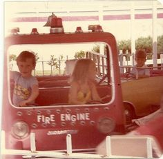 Old Time Toys are back and bigger than before : ) Fire Engine, The Good Old Days, Toys, Home Decor, Homemade Home Decor, Firetruck, Fire Truck, Gaming