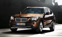 BMW X1- sparkling bronze fav color.