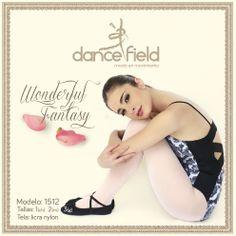 Wonderful Fantasy mod. 1512 Disponible en Ch, M y G Lycra y nylon #Ballet #Ropa #Baile #Venta ventasweb@dancefield.com.mx