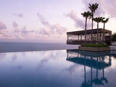"""Alila Villas Uluwatu - Bali, listed in """"The 10 Best Infinity Pools in the World"""" by The Private Jet Lifestyle Magazine - Elite Traveler"""