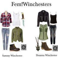 Fem!Winchesters