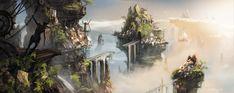 fantasy cloud medieval digital concept imgarcade fiction