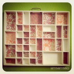 {type case project} by {nifty thrifty things}, via Flickr