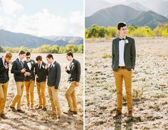 "re-pinning from my BFF and best-man, Andrew Levinson: ""Totally non douchey, hipster asshole groomsmen"""