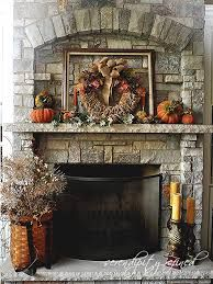 fall mantel - Google Search