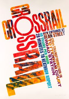 Crossrail - Alan Kitching - Debut Art