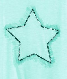 Jersey Tank Top | Mint green/star | Kids | H&M US