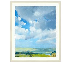 River Clouds Framed Print | Pottery Barn