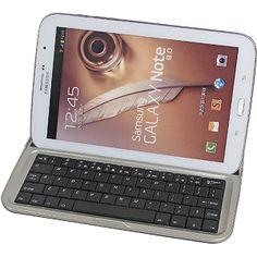Bluetooth Aluminum Keyboard Case for Samsung Galaxy Note 8.0