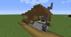 Blacksmith Design Village Pallet WIP : Minecraft Minecraft structures Minecraft construction Minecraft architecture