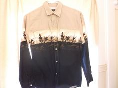Roper Western Cowboy Shirt Pearl Snap Round Up Cattle Drive Youth Boys L 12/14 #Roper #DressyEveryday