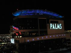 View from Ghost Bar, on the top floor of the Palms. Palms Las Vegas, Fantasy Suites, Hotel Suites, Floor, Bar, Pavement, Boden, Flooring, Hotel Bedrooms