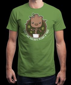 """""""Save the Galaxy"""" is today's £8/€10/$12 tee for 24 hours only on www.Qwertee.com Pin this for a chance to win a FREE TEE this weekend. Follow us on pinterest.com/qwertee for a second! Thanks:)"""