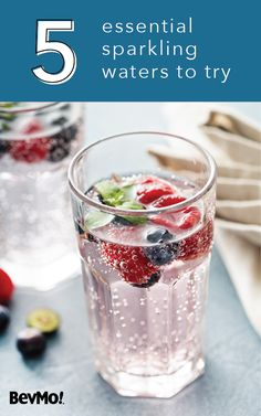 Give your guests a refreshing alternative to alcohol at your next party with this collection of 5 essential sparkling waters to try from BevMo! Plus, sparkling water makes a great wine substitute or seasonal cocktail mixer in lieu of tonic or soda water.