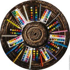 Купить Миниатюрные краски - краски, миниатюрные серьги, миниатюрные модели, акварельные краски, акварель