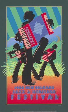 Jazz Fest Poster 1988