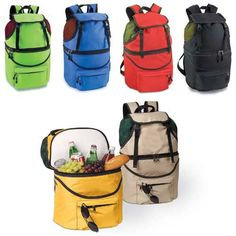 The insulated cooler/backpack won't weigh you down when carrying food and gear to your destination.
