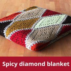 Free crochet pattern: neon touch baskets (ENG / NL)