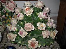 Capodimonte Flower Floral Vintage Centerpiece