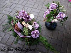 zielone klimaty - kwiaty Lublin: Z kwiatami na groby najbliższych... Floral Wreath, Wreaths, Plants, Decor, Centre, Floral Crown, Decoration, Door Wreaths, Deco Mesh Wreaths