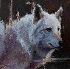 White Wolf Portrait | Artwork