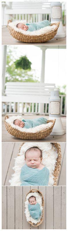 Holden's lifestyle newborn session, Washington NC, Will Greene Photography