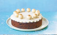 This delicious simnel cake makes a perfect centrepiece for an Easter table