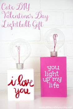 I have seen a lot of cool recycled lightbulb crafts recently and  was inspired to use some of my dead light bulbs to create this cute DIY  Valentine's Day lightbulb gift! #valentines #valentinesday  #valentinesdaycrafts #valentinesdayprojects #valentinesdaygiftideas  #valentinesdaygifts #valentinesdaydiy #diyvalentinesday #diyvalentinescrafts  #diyvalentinesdecor #diyvalentinesdaydecor #valentinesdaygifts