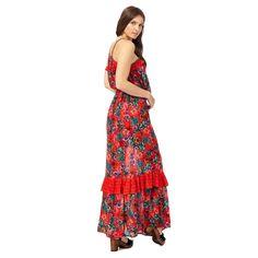 Maxi dress red herring
