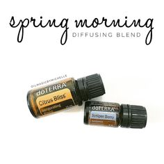 One of my most favorite diffusing blends this time of year! A little morning…