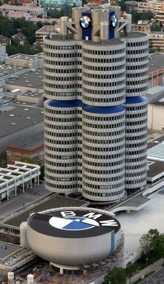 BMW Headquarters, Munich, Germany Really wish they would ship the parts quicker for our car.  Two months without our car is a little to long :( But then again at least they are going to fix it right. :)