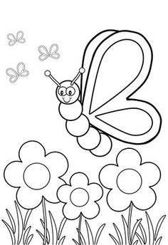 These Insect Coloring Pages To Print Will Serve As An Important Tool For Education And Creative Development