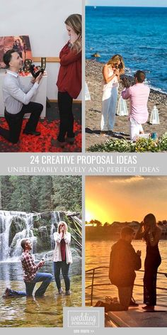 24 Creative Proposal Ideas ❤ Find some unbelievably sweet, lovely and perfect creative proposal ideas. Be inspired to great action! See more: http://www.weddingforward.com/creative-proposal-ideas/ #proposal #ideas #wedding