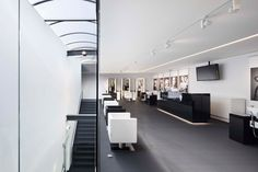karl lagerfeld + HPP architects: schwarzkopf lightbox-pin it by carden