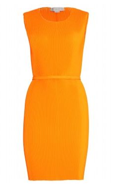 Pleated Stretch Dress by STELLA MCCARTNEY @girlmeetsdress