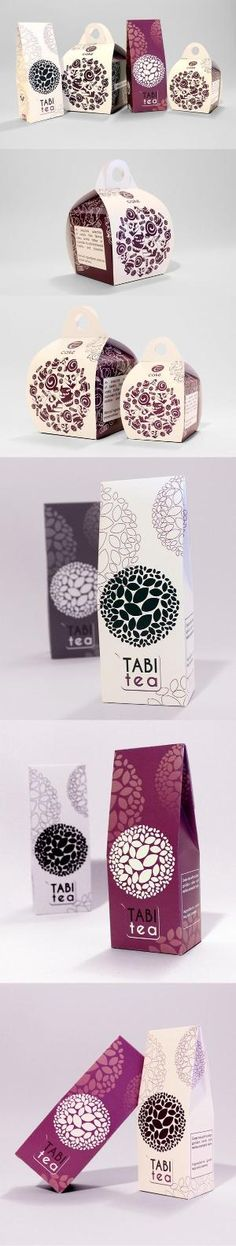 Tabi Cafe by CULT CAT, via Behance. I love this tea and cake packaging PD Design Typo, Cl Design, Label Design, Branding Design, Package Design, Circle Design, Cake Packaging, Coffee Packaging, Pretty Packaging