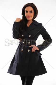 Trench LaDonna Stately Fashion DarkBlue