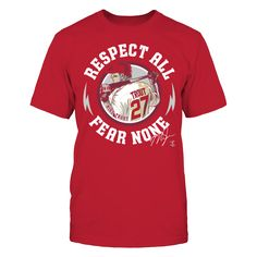 Mike Trout - Respect All Fear None T-Shirt, Mike Trout Official Apparel - this licensed gear is the perfect clothing for fans. Makes a fun gift! The Mike Trout Collection, OFFICIAL MERCHANDISE Available Products: District Men's Premium T-Shirt - $27.95 Gildan Unisex T-Shirt - $24.95 Gildan Women's T-Shirt - $26.95 Gildan Unisex Pullover Hoodie - $44.95 District Women's Premium T-Shirt - $29.95 Next Level Women's Premium Racerback Tank - $29.95 Gildan Long-Sleeve T-Shirt - $33.95 Gildan…