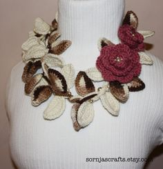 Wear as a necklace or a scarf