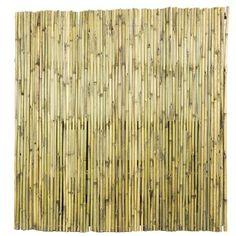 Bamboe Schutting naturel ca. 180x180 cm kopen? schuttingen-en-tuinschermen   Karwei Pergola Patio, Backyard, Caravan Makeover, Ibiza, New Homes, Wood, Gamma, Euro, Gardening