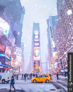 *** @laurynbeamish 133 more days!!!! New York City Feelings - Let it snow … Let it snow … Let it snow … ❄️❄️❄️❄️