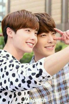 Lee Jong Suk and Kim Woo Bin #Friends