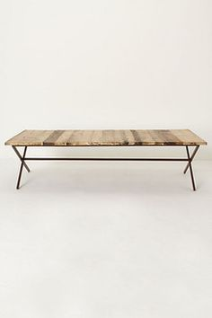 metal frame and recycled wood...Coffee And Accent Tables - page 17