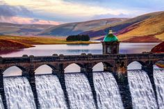 The Craig Goch Dam, often called the Top dam, is a masonry dam in the Elan Valley of Wales.