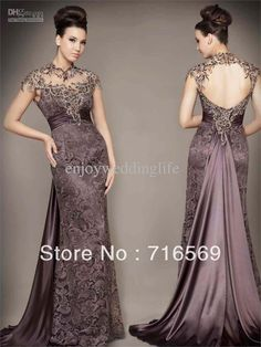Wholesale 2013 Elegant light purple lace prom evening dresses mother of the bride/groom dresses, Free shipping, $165.97~174.71/Piece | DHgate Mobile