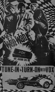Vox Records advertisement